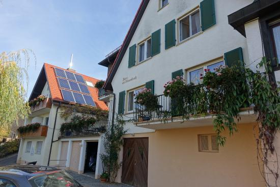 Haus am Blauenbach : The front