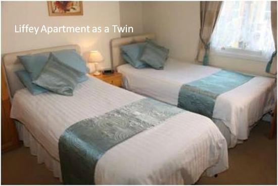 Cladda: Liffe Apartment Bedroom as a Twinn