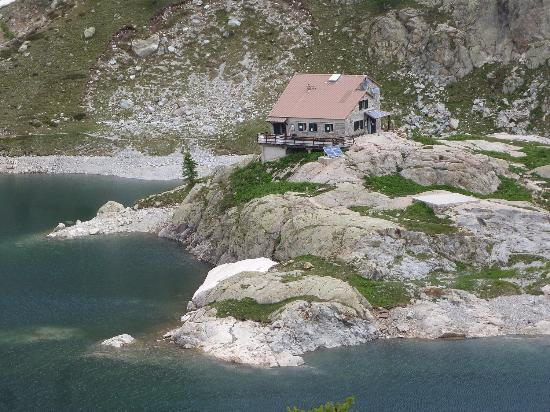 Provence-Alpes-Cote d'Azur, Fransa: Refuge de la Valmasque