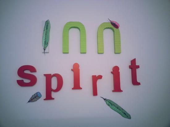 Inn Spirit: Sign board in public area