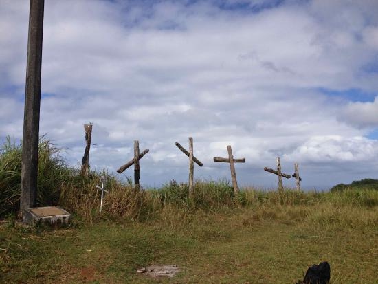 Agat, Mariana Islands: Mt Jumullong Mangloてっぺん