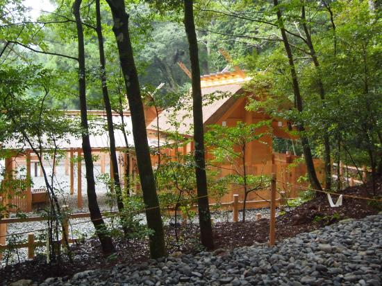 Taiki-cho, Japan: 若宮神社側から