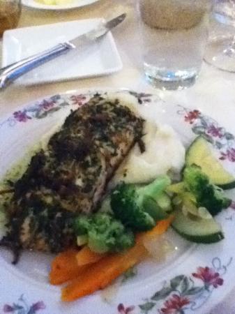 Boonsboro, MD: Encrusted Salmon