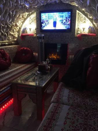 Crystal Palace Spa : Reception tea