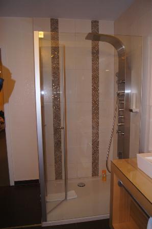 Lalling, Germania: Wellnessdusche im Badezimmer