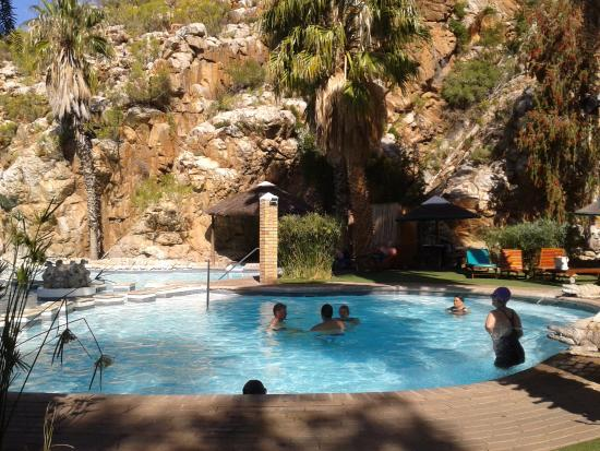 Avalon Springs Pool With Hot Natural Spring Water From Underground