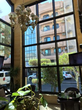 The View Picture Of Al Bindaira Cafe Adliya Manama Tripadvisor