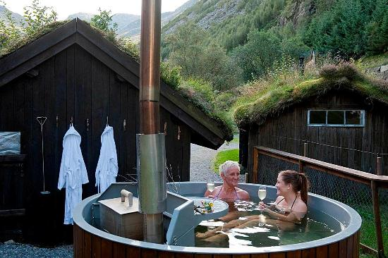 Rogaland, Norge: Hot tub