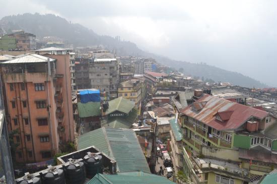 Hotel Sonar Bangla - Darjeeling: View from room