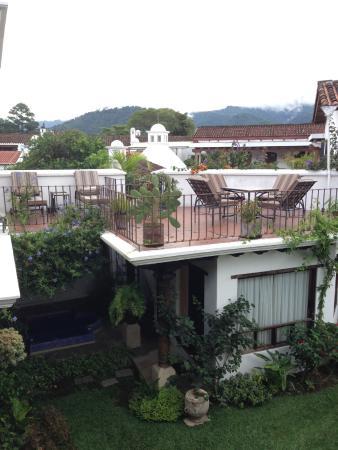 Casa Madeleine: desde el balcón de la habitación