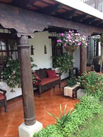 Casa Madeleine: pasillo de habitaciones