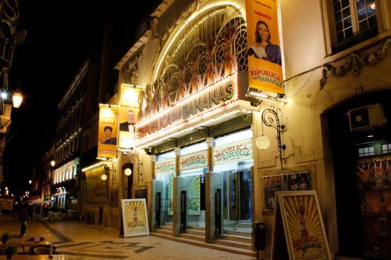 Teatro Politeama: Fachada.