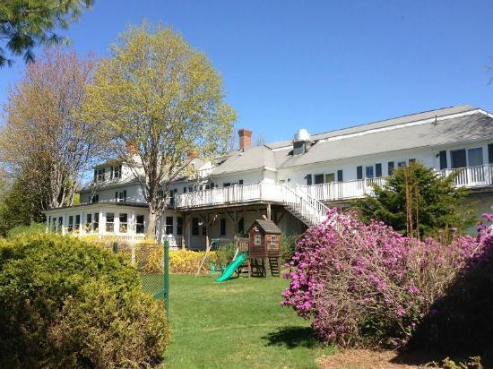 Wolfeboro, New Hampshire: Main Inn rear view