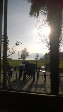Piverone, İtalya: Un boccone vista lago
