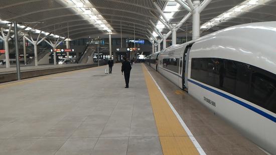 Zhuanghe, China: 大連北駅3