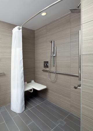 Roll In Shower Picture Of Cambria Hotel New York Times Square New York City Tripadvisor