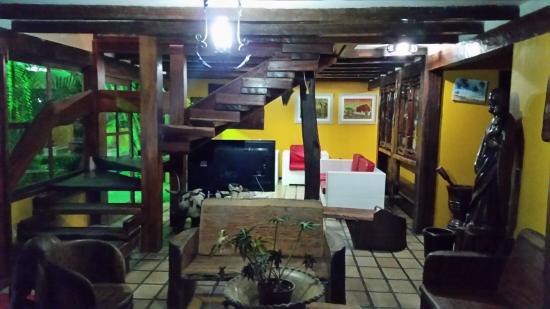 Hotel Solar do Imperador: Hall de um dos blocos do hotel