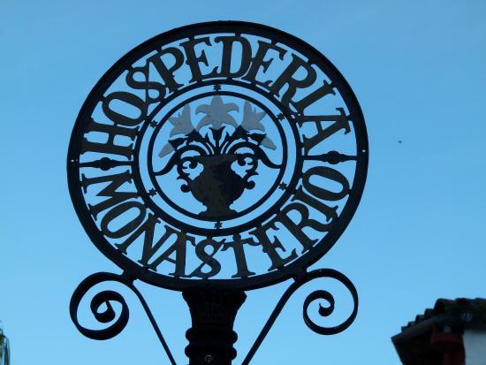 Hospederia Real Monasterio: le blason de l'Hospédéria
