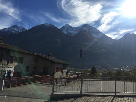 St. Christophe, Italie : beautiful view of the mountains