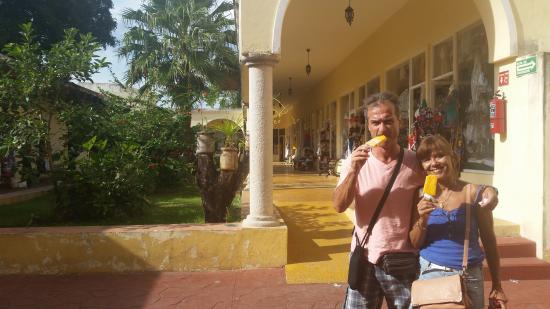 Maria de la Luz Hotel: Restaurante