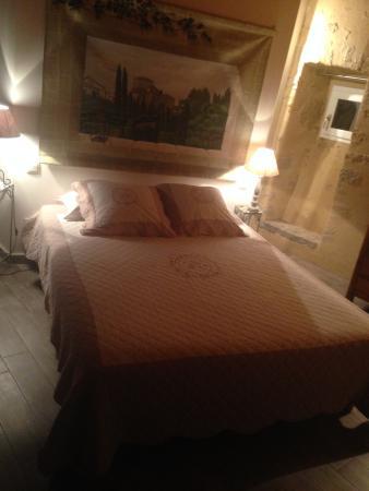 Compregnac, Francia: Notre chambre.