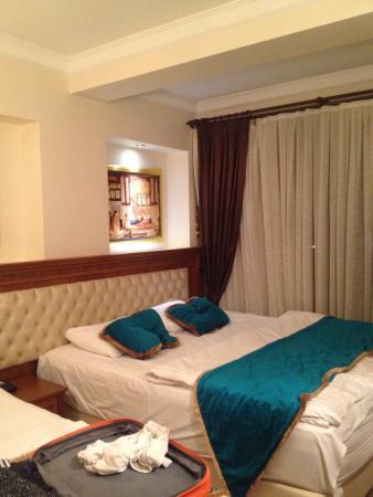 Blue Istanbul Hotel: номер