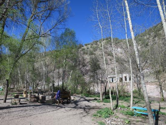 Hot Springs Area - Picture of Gila Hot Springs Campground, Silver