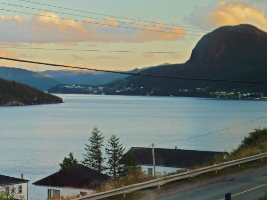 Woody Point, Canada : View from Bonne Bay Inn