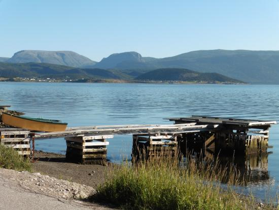 View of Bonne Bay & Gros Morne from Woody Point