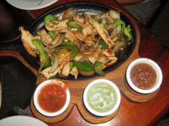 Travel in': fajitas de pollo