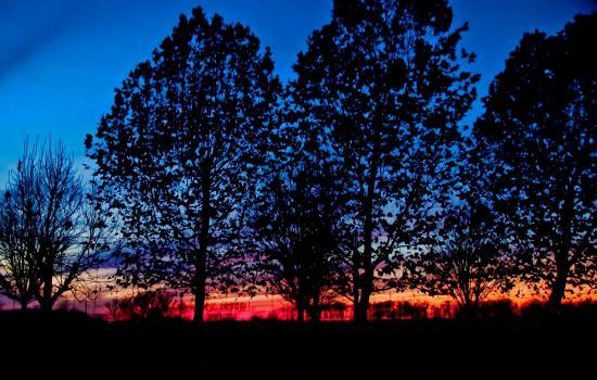 Gentry, AR: Left just after Sunset - still beautiful!