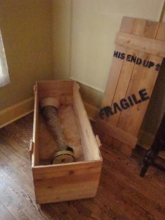 A Christmas Story House: The Major Award (leg lamp)