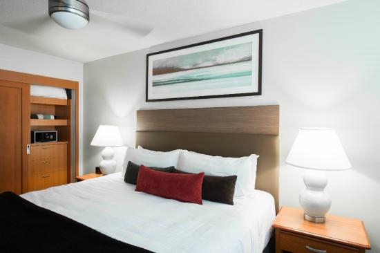 West Coast Suites at UBC: West Coast Suites with in room safe