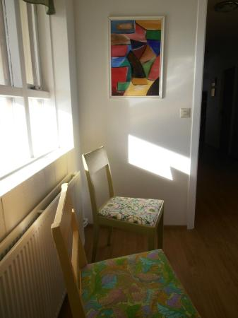 Raufarhofn, IJsland: Old chairs as good as new.