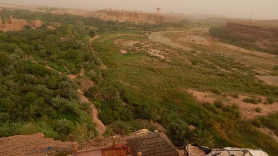 Kasbah Itran: view