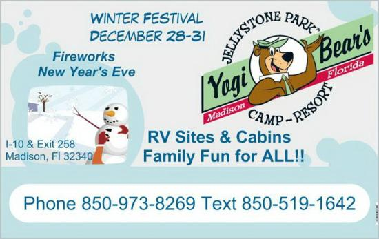 Ragans Family Campground : Join us for our Winter Festival