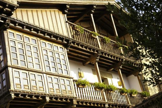 La Casa del Organista : Detalle del balcón del Hotel