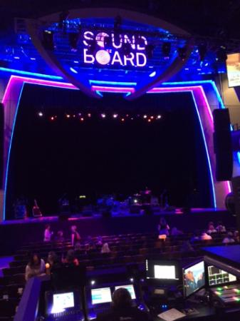Sound board concert hall picture of motorcity casino for Motor city casino hotels
