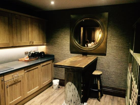 The Shankly Hotel Kitchen Area