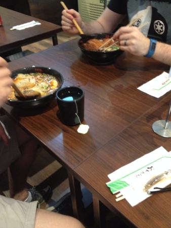 Ajisen Ramen: Miso Ramen dishes