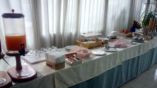 Hotel Cesare Augusto: Buffet per la colazione
