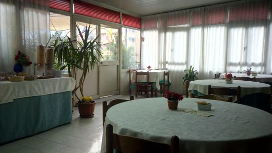 Hotel Cesare Augusto: la sala colazioni