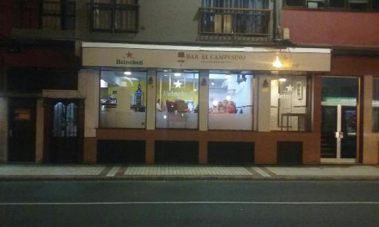 Marzagan, สเปน: Bar El Campesino