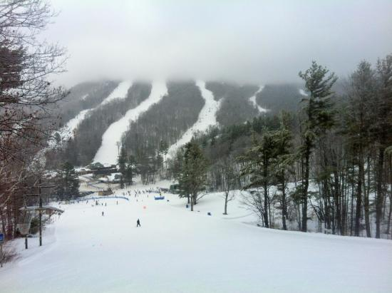 Mount Sunapee, NH: general view of slopes