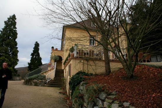 Seeheim-Jugenheim, Allemagne : Restaurantansicht vom Park aus