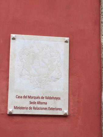 Casa del Marquez de Valdehoyos
