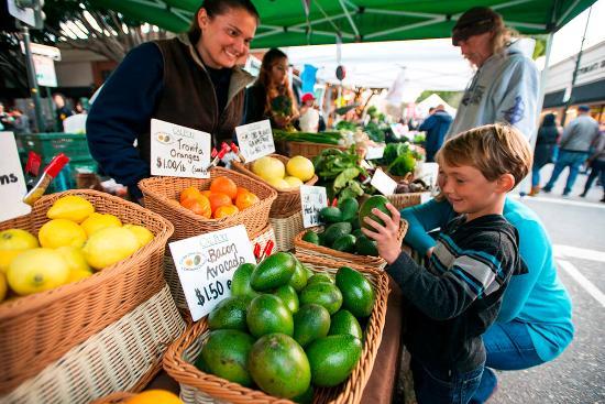 San Luis Obispo, CA: Farmers' Market kid