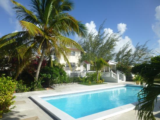 Island House Hotel : Out door pool