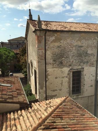 Best Western PLUS Hotel De Capuleti: Vista da janela