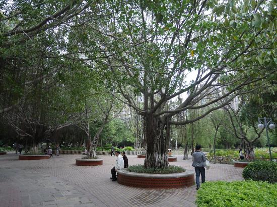 Quanzhou, China: 小型社區公園